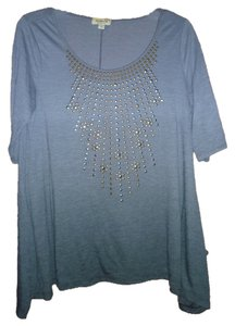 One World Ombre Sharkbite Embellished Tunic