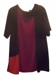 Antthony Top Black/Fuchia/Orange