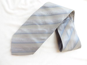 Hugo Boss Grey Silk Tie/Bowtie