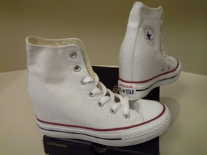 White Converse Wedding Shoes - Up to 90% off at Tradesy