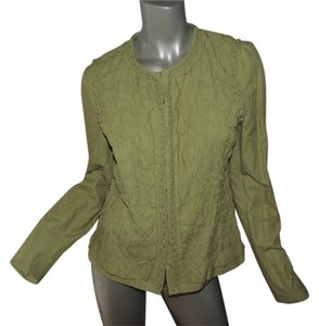 Elie Tahari Steampunk green Jacket