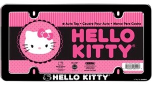 Hello Kitty Hello Kitty Chroma License Plate Frame