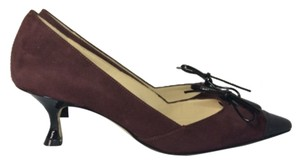 Manolo Blahnik Burgundy Pumps