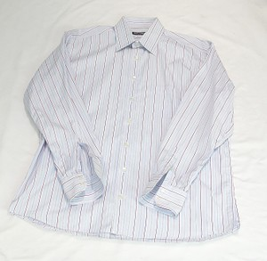 Dolce&Gabbana Blue Cotton Dress Shirt
