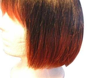 Kane Kalon Wig Brand new Kane Kalon Bob wig with shades going from black to red on tips. Very chic and trendy. Comfortable wig with neck adjustment strap. Looks incredibly real especially along the skull cap of wig.