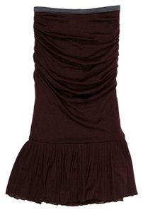 Dolce&Gabbana short dress Dark brown purple on Tradesy