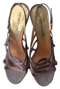 Giorgio Armani Dress Designer Discount Lavender Sandals