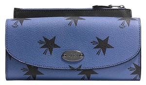 Coach BNWT Coach POP SLIM ENVELOPE WALLET IN STAR CANYON PRINT COATED CANVAS (COACH f53568)