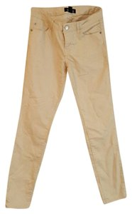 Forever 21 Straight Pants Beige