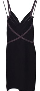 Hervé Leger Bodycon Going Cocktail Black Little Black Bandage Black And Body Con Sexy Dress