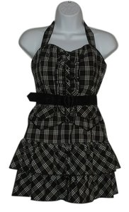 bebe short dress plaid on Tradesy