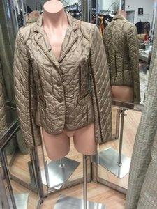 DKNY Dkny Blazer Jacket Silk Brown