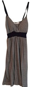 Charlotte Russe short dress Navy and white striped on Tradesy
