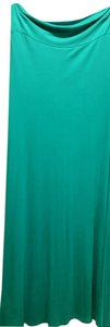 Wet Seal Maxi Skirt Turquoise Green