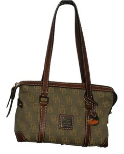 Dooney & Bourke Satchel in multi olive