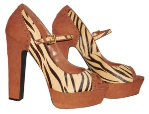 bebe brown multi Platforms