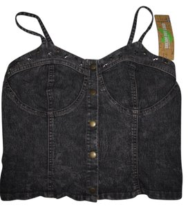 Selena Gomez Dream Out Loud Bustier Top denim -black washed