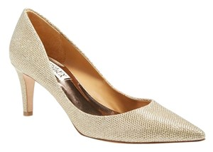 Badgley Mischka Pump Shoe Size Poise Platino Gold Pumps