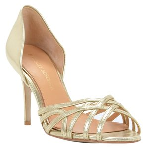 Badgley Mischka Pump Shoe Size Platino Gold Pumps