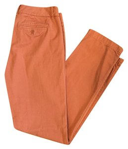 J.Crew Straight Pants Light Rust