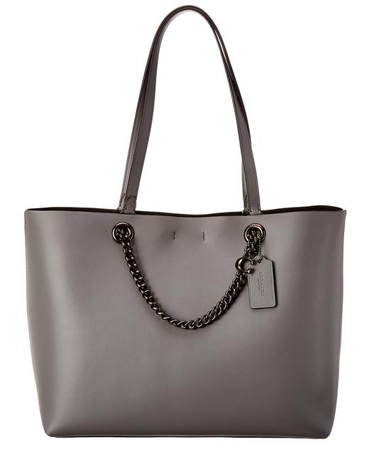 Coach Signature Chain Convertible Leather 78218 Tote Coach Signature Chain Convertible Leather 78218 Tote Image 1