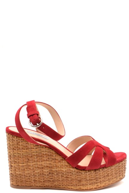 Item - Red Women's Wedges