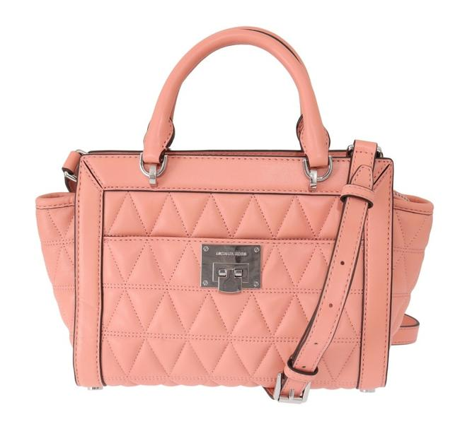 Item - Messenger Pink Vivianne Leather One Size Shoulder Bag