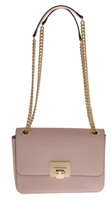Item - Pink Tina Leather One Size Shoulder Bag
