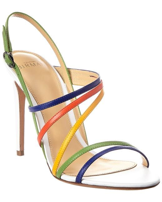 Alexandre Birman 100 Leather Strappy B35145 0237 0002 Sandals 13135806080003 Image 1
