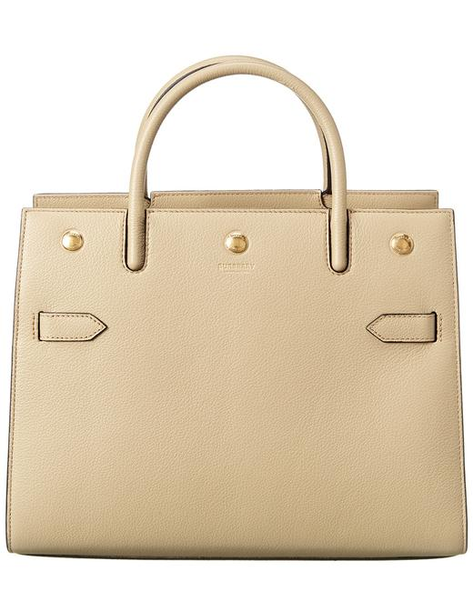 Burberry Small Leather 8024689 Tote Burberry Small Leather 8024689 Tote Image 1