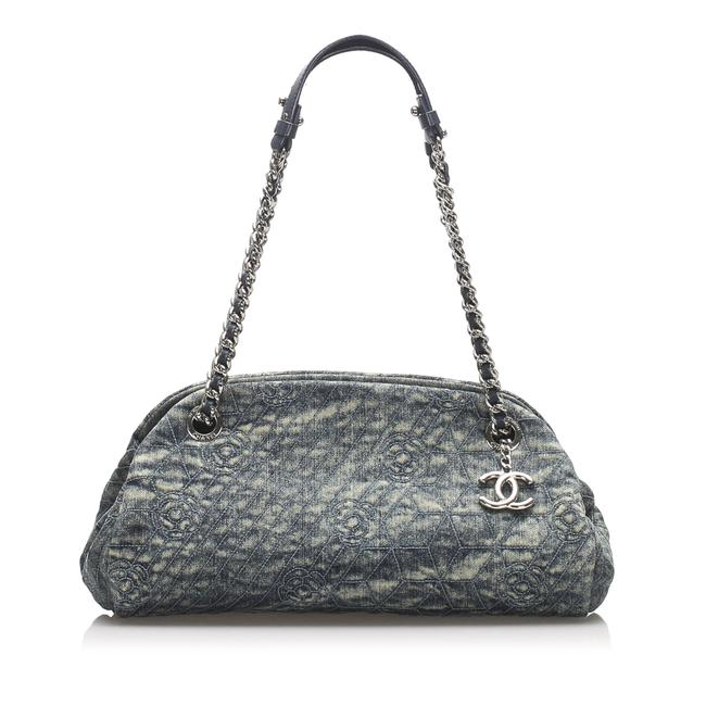Item - Mademoiselle Camellia Denim Shoulder Bag