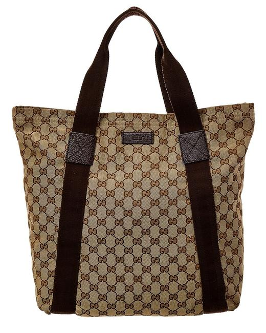 Gucci Shopping Bag Jolicoeur Pre-owned Gg Canvas 1823462 Tote Gucci Shopping Bag Jolicoeur Pre-owned Gg Canvas 1823462 Tote Image 1