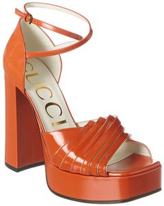 Orange Gucci Sandals Up to 90% off at