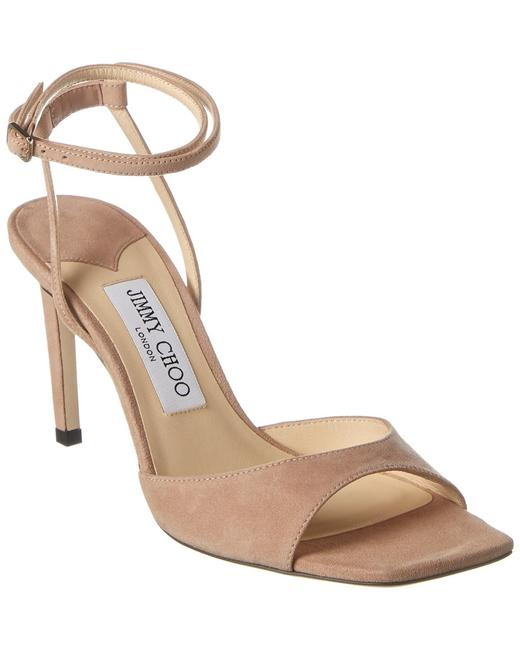 Item - Suede Mori 85 Sue Ballet Pink Sandals