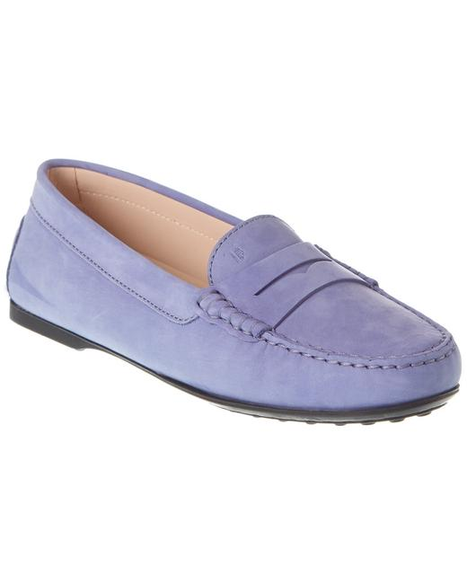 Tod's City Gommino Suede Driving Xxw0lu0001z 06s L016 Flats 13135357840001 Image 1