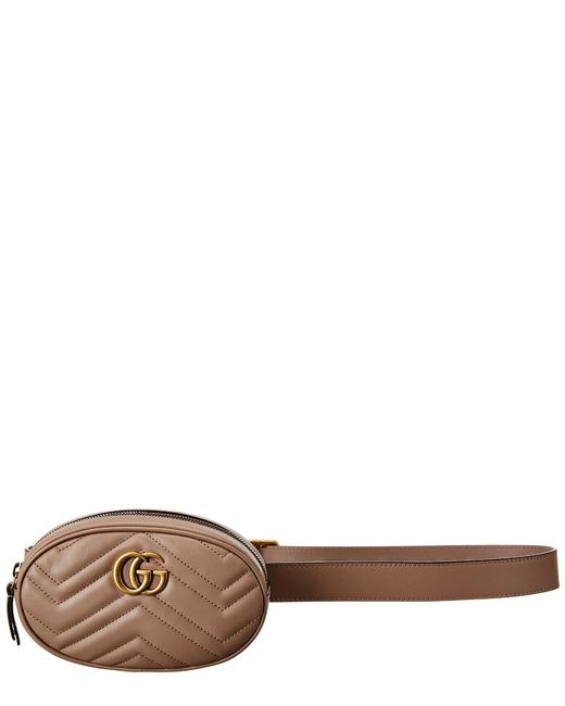 Gucci Marmont Gg Matelasse Leather 476434 Dsvrt 5729 Belt Bags Gucci Marmont Gg Matelasse Leather 476434 Dsvrt 5729 Belt Bags Image 1