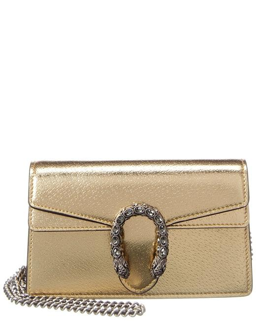 Item - Dionysus Super Mini Metallic Leather 476432 1trbn 8089 Shoulder Bag
