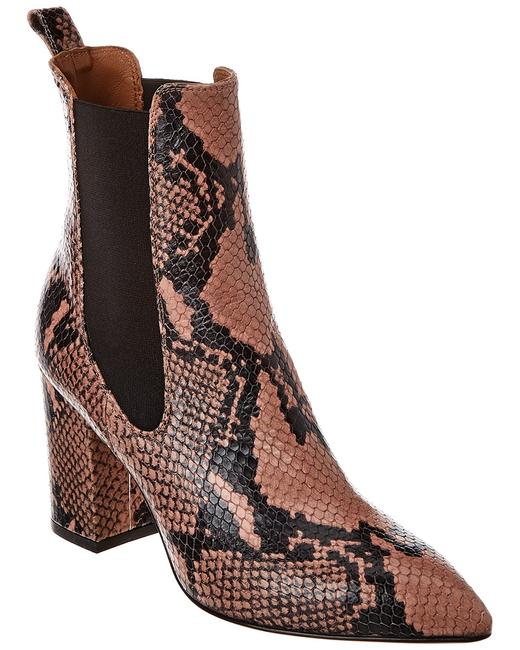 Paris Texas Snake-embossed Leather Px125 Xpn01 Boots/Booties 13113176420004 Image 1
