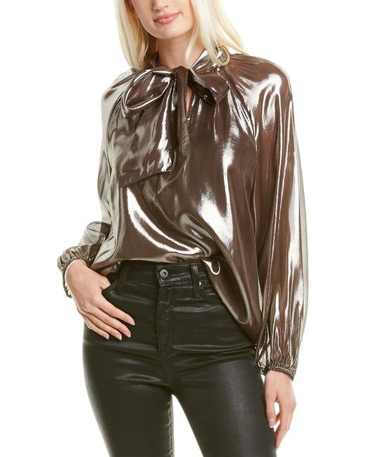 Item - Giovanna Silk-blend Top F19t627057 Blouse