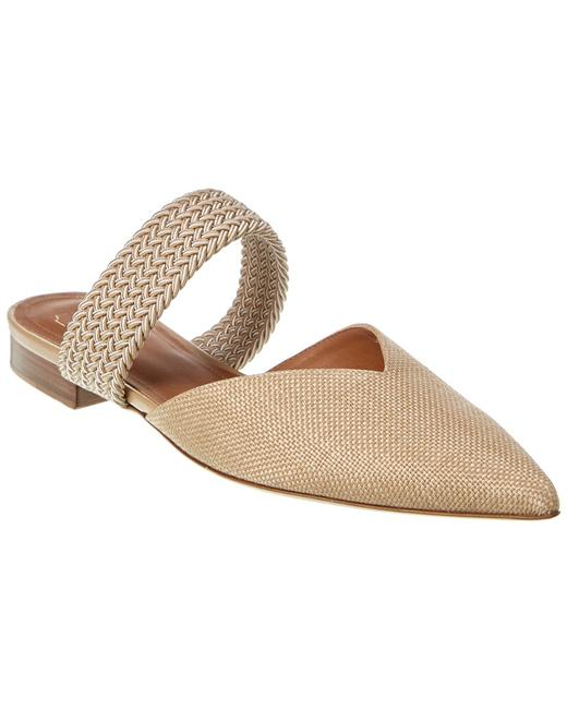 Malone Souliers Maisie Flat 11 Oatmeal Mules/Slides 13135512620003 Image 1