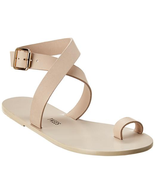 TKEES Leather Nicole Sandals 13113842470000 Image 1