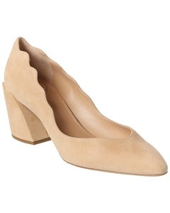 Chloé Laurena Scalloped Suede Chc20s28 601 26u Pumps