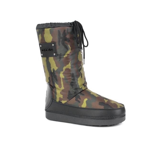 Item - Love Women's Logo Camouflage Boots/Booties