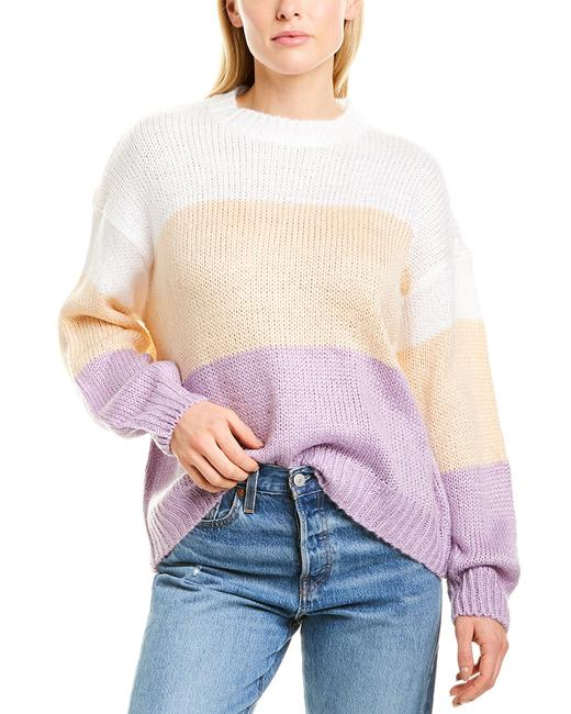 Item - Colorblocked Knit Nt18455 Sweater/Pullover
