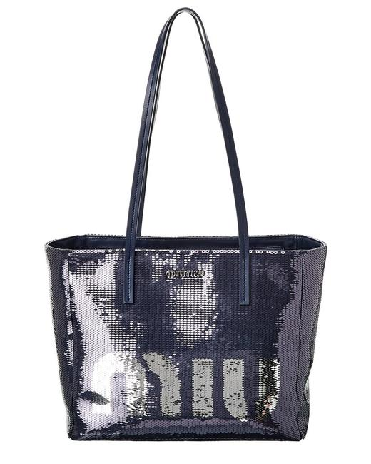 Item - Logo Sequin & Leather 5bg147 959 F015g Ooo Tote