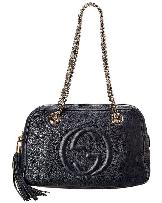 Item - Soho Pre-owned Leather Chain Bag 6686-1 Tote