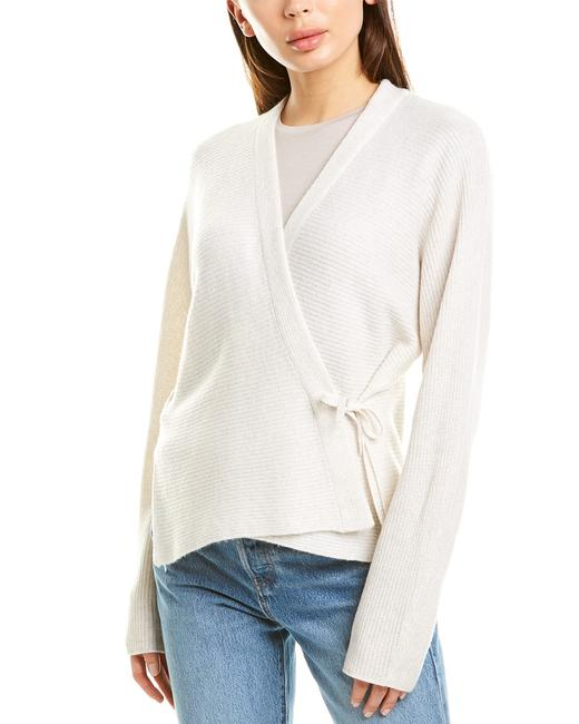 Item - Wrap Wool & Cashmere-blend V656078405 Cardigan