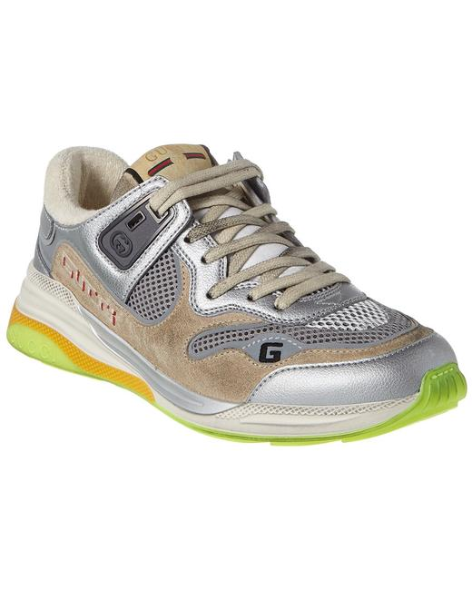 Item - Ultrapace Leather & Suede Sneaker 592882 Hqk20 8166 Athletic