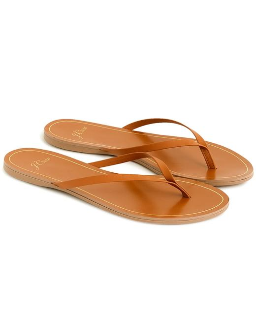 Item - New Leather Flip Flop L5198 Capris