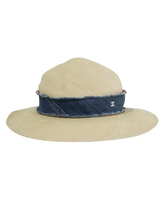 Item - Straw -pre Owned Condition Excellent U Hat